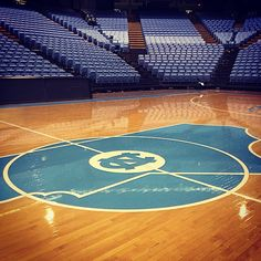 UNC Basketball. Dean Smith Center.