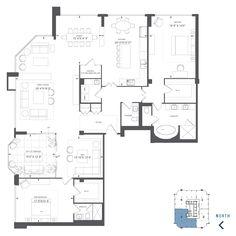 100 Yorkville Avenue Annex Toronto Condominiums Floor