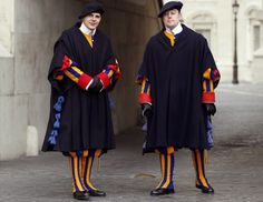 Vatican City: There is no women's costume for the Vatican.
