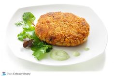 Crispy Red Curry Chicken Croquettes with Cilantro Lime Greek Yogurt Dressing with FAGE Total Greek Yogurt