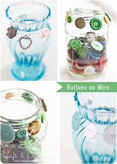 Buttons on Wire - by Craft & Creativity