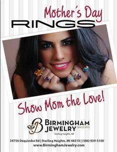 Is MOM your QUEEN? Show her how much she means to you with a gorgeous Mother's Ring, Custom designed necklace or bracelet, or a beautiful piece of PANDORA Jewelry. Only a few days left! #BirminghamJewelry #MOMisQUEEN #PANDORAJewelry
