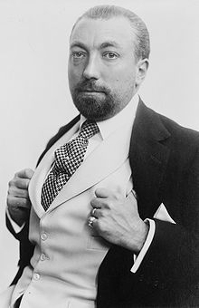 Paul Poiret: very famous couture designer in Paris; did away with corsets, used vivid colors, first couturier to market perfume, and designed costumes for theater