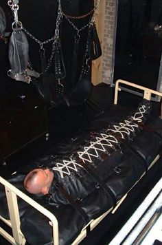 bondage bags People in