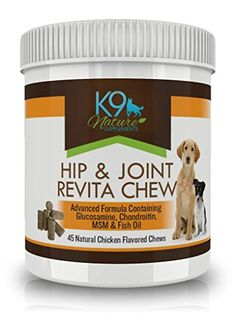 Glucosamine for Dogs with Fish Oil Chondroitin MSM DHA  EPA Omega 3 Fatty Acids  Vet Recommended Hip and Joint Supplement Treats for Anti Inflammotory Arthritis Relief in Pets 60 Soft Chews * More info could be found at the image url.Note:It is affiliate link to Amazon.