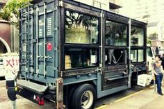 shipping container food truck