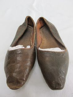 1840's Leather Shoes