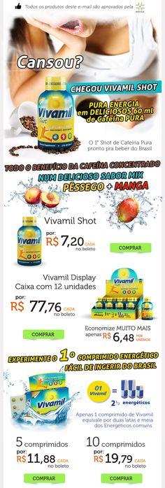 Job para www.nutribrands.com.br - Lançamento Vivamil Shot by Tiago Nepomuceno