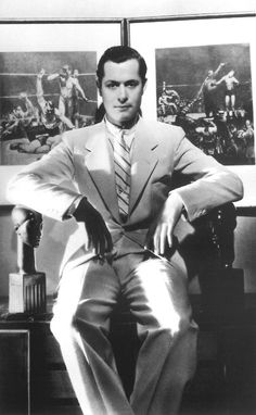 Robert Montgomery, great actor, director. So versatile, also the father of Elizabeth Montgomery who was in the TV show Bewitched