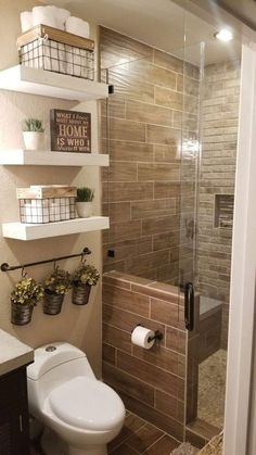 Life-changing bathroom remodel ideas for small spaces Looking to update your bathroom? Check out these affordable small bathroom remodel ideas and designs. Get inspired for your next home remodeling project. Bathroom Design Small, Bathroom Interior Design, Small Bathroom Ideas On A Budget, Decor For Small Spaces, Small Bathroom Decorating, Small Bathroom Storage, Small Bathroom Showers, Small Rustic Bathrooms, Bathroom Organization
