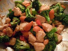 Chicken Broccoli Stir Fry (Kung Pao Style) Wheat Belly Recipe http://www.gourmetgirlcooks.com/search/label/Chicken%20Broccoli%20Stir-fry%20%28Kung%20Pao%20Style%29