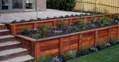 modern garden edging ideas - Google Search