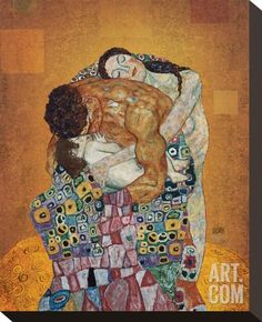 The Family Stretched Canvas Print by Gustav Klimt at Art.com