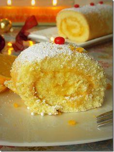 biscuit roule de fete ou dessert.