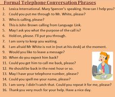 13 Best Telephone conversation images in 2018   English