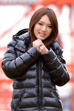 Nylons, Down Suit, Down Puffer Coat, Puffy Jacket, Cool Jackets, Winter Jackets Women, Rain Wear, Jacket Style, Winter Outfits