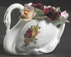 Floral Giftware, Miniatures in the Old Country Roses pattern by Royal Albert China