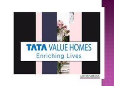 Tata Value Homes Sector 150  Tata Value Homes offers their new Residential Project is a skyscraper improvement of 2 BHK & 3 BHK Apartments in various sizes and designs in Noida, Sector 150. Click here: https://www.indrealestates.com/project/tata-value-homes-noida/