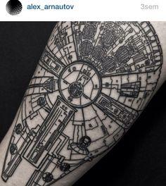 Alex arnautov #tattoo #tats #ink #blackworker #draw #tatouage #starwars