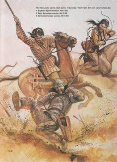 Ancient armies of the scytho-sarmatians