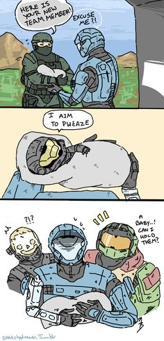 Video Games Funny, Funny Games, Halo Drawings, Halo Funny, Halo Mega Bloks, Halo Spartan, Halo Armor, New Halo, Halo Master Chief