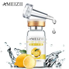 AMEIZII Vitamin C VC Original Liquid Whitening Serum Skin Care Acne Treatment Blackhead Remover Day Creams Moisturizers Essence