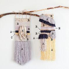 手織りウォールデコレーションのレシピ