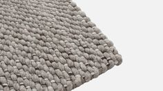 Bliss Wool Rug L Grey/Brown | Hem.com