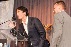 Ian Somerhalder attends WildAid 2016 Gala to receive WildAid's prestigious Wildlife Champion Award for his efforts in supporting Wild Life at Ritz Carlton Hotel in San Francisco, CA on Saturday,  November 12, 2016