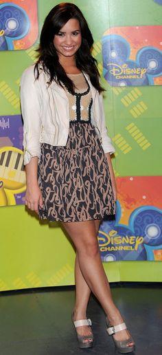 Demi Lovato's style through the years... | Sugarscape |