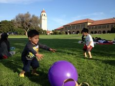 Day trip with children to Stanford University
