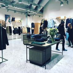 If you haven't yet go and welcome our danish friends from @samsoesamsoe to #helsinki at Kämp Galleria #visualmerchandising #storedesign #retaildesign #retail #fashionretail