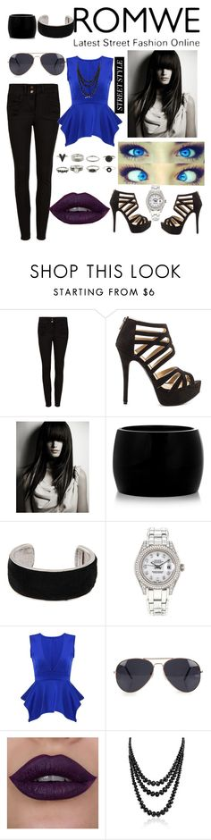 """""""Untitled #63"""" by glamorouskitty ❤ liked on Polyvore featuring JustFab, Alexander McQueen, Isabel Marant, Rolex, NLY Accessories and Bling Jewelry"""