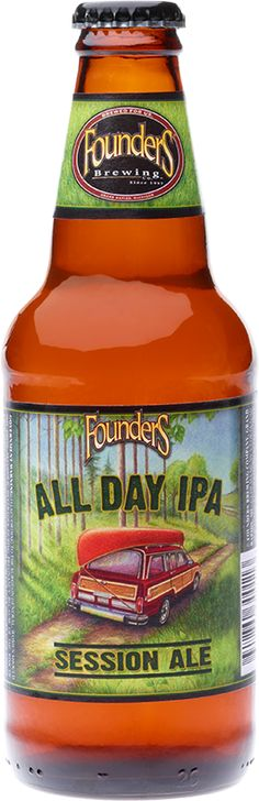 Probably my favorite IPA. I miss you, Founders.