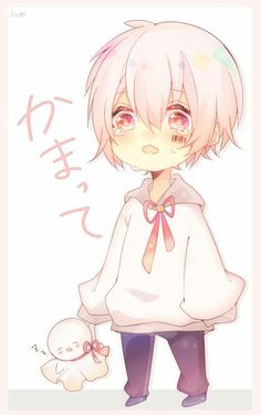 Pin by yukina// on utaite(´・ω・`) Chibi Kawaii, Cute Chibi, Kawaii Art, Anime Guys With Glasses, Hot Anime Guys, Cute Anime Boy, Neko Boy, Chibi Boy, Vocaloid