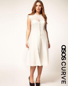 I live this ASOS dress - I don't know when I'm going to need a new sundress though (http://us.asos.com/ASOS-Curve-Dress-With-Button-Front/x9ble/?iid=1890277&cid=9577&sh=0&pge=0&pgesize=20&sort=-1&clr=Cream&mporgp=L0FTT1MtQ3VydmUvQVNPUy1DVVJWRS1EcmVzcy1XaXRoLUJ1dHRvbi1Gcm9udC9Qcm9kLw..)