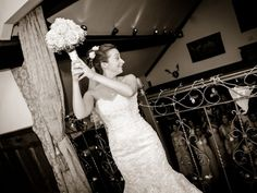 The Minstrels Gallery is the PERFECT place to throw your bouquet from!