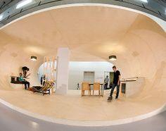 Skate-able house