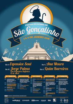#saogoncalinho #beiramar #aveiro #aveirolovers #portugal #cavacas #festa #happy Multimedia, Portugal, Movie Posters, Design, Poster, Fiestas, Events, Film Poster, Popcorn Posters