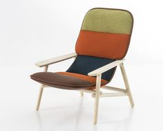 Patricia Urquiola's Lilo Chair for Moroso references 1950 scandinavian modernism - see more on blog