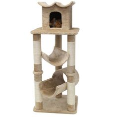 "Majestic Pet Products 47"" Casita Fur Cat Condo"