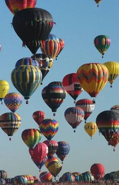 Albuquerque Balloon Festival - definitely on my bucket list