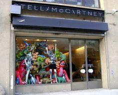 stella mccartney storefront window
