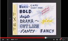 Excellent Video Tutorials to Help You Sketchnote on iPad ~ Educational Technology and Mobile Learning