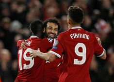 Mo Salah, Sadio Mane and Roberto Firmino are among the best front threes in football Liverpool Football Club, Liverpool Fc, Arsenal News, Pierre Emerick, Premier League Champions, How To Speak French, Stand Tall, Looking Forward To Seeing, Lionel Messi