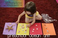 Still Playing School: Our Preschool Ocean and Beach Theme