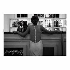 How fabulous is the back of Kaitlan's dress?! @moderntrousseaucharleston . @jenningsking @nitsasapparel @moniquelhuillierbride @josabank @barrybeaux @paperdollshair @wilsonsonwashingtonsc @outofthegarden @pamperedpalate @oohevents @nateperryproductions @Kaitlanwoods @hawkinsd10 #jenningskingphotography #hawksnest #alhambrahall #mountpleasantwedding alhambrahallwedding  #charlestonbride #charlestonwedding #chsbride #jenningskingbride #MtPleasantwedding #chswedding