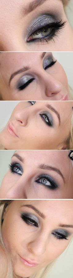 Silver eyes   Helen Torsgården – Hiilens sminkblogg