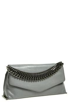 Free shipping and returns on Milly 'Collins' Clutch at Nordstrom.com. Crisp, modern lines define a go-to clutch furnished with a drop-in chain strap that adds street-savvy versatility.