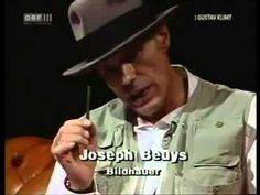 Joseph Beuys talking about art, human beings, work, vision...